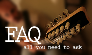 FAQs about Guitar, Bass & Music Theory lessons by Malcolm Callus, Cool Gool Music