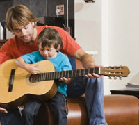parent and kids guitar lessons