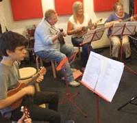 adults ukulele lessons London
